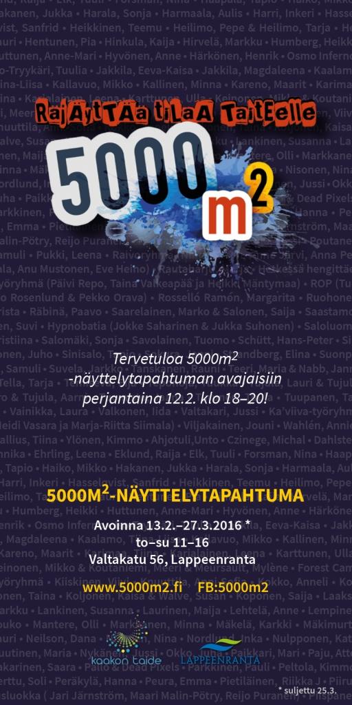 Kutsu 5000m2-näyttelytapahtumaan